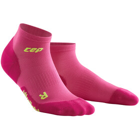 cep Dynamic+ Ultralight Low-Cut Socks Women electric pink/green